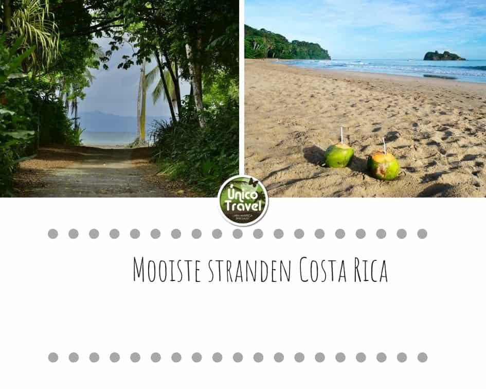 Mooiste stranden Costa Rica