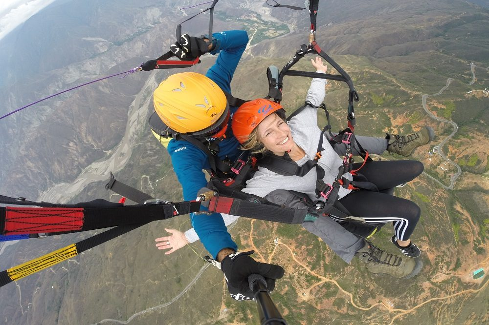 Paragliden Colombia