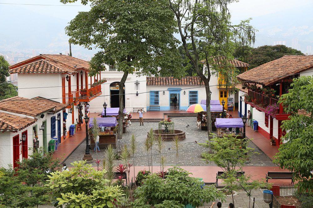 Pueblito Paisa (fotocredits de Medellin.travel Greater Medellin Bureau)