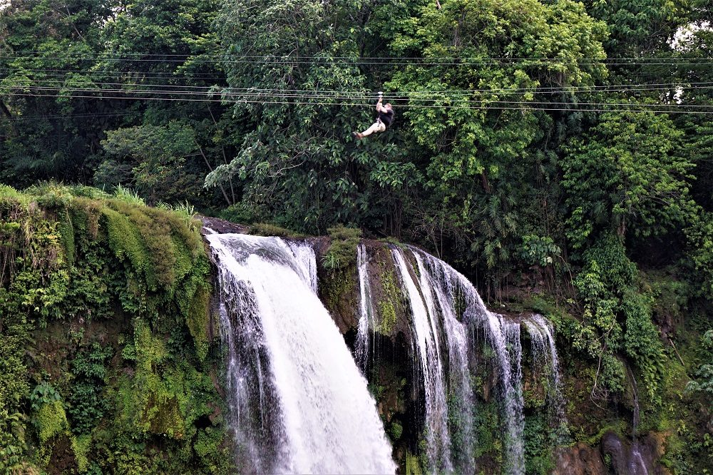 Pulhapanzak Waterfalls zipline