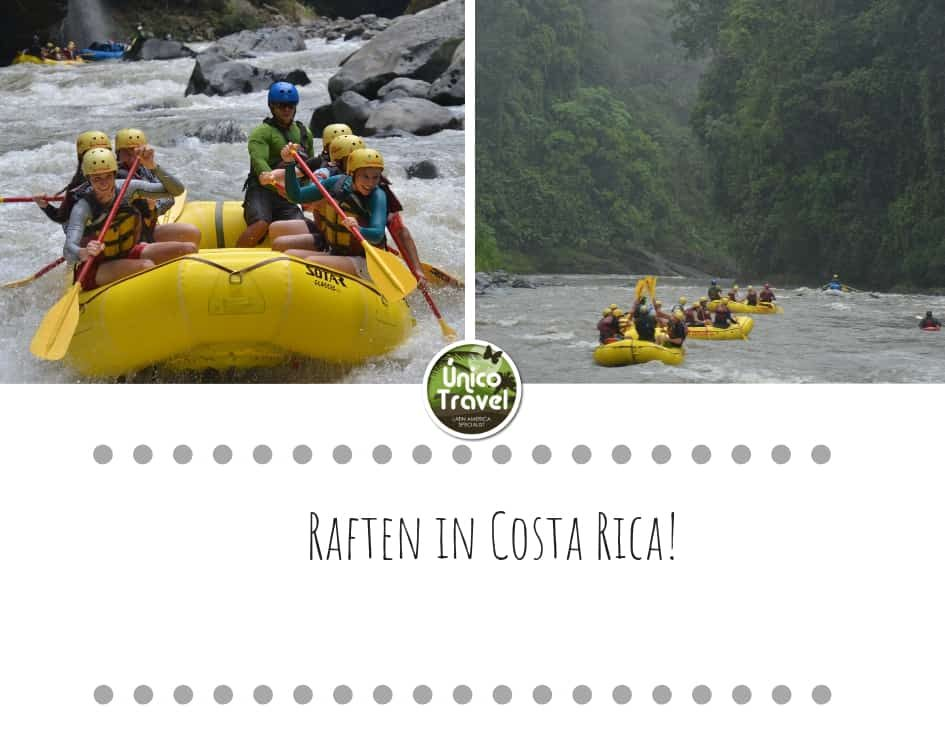 Raften in Costa Rica