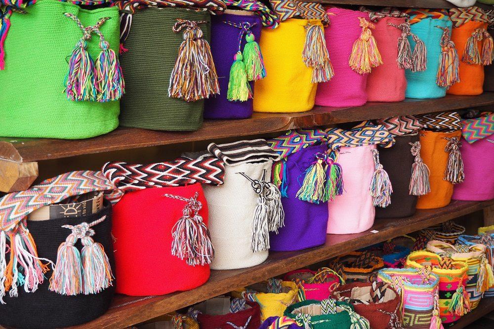 reiservaring colombia cartagena tassen