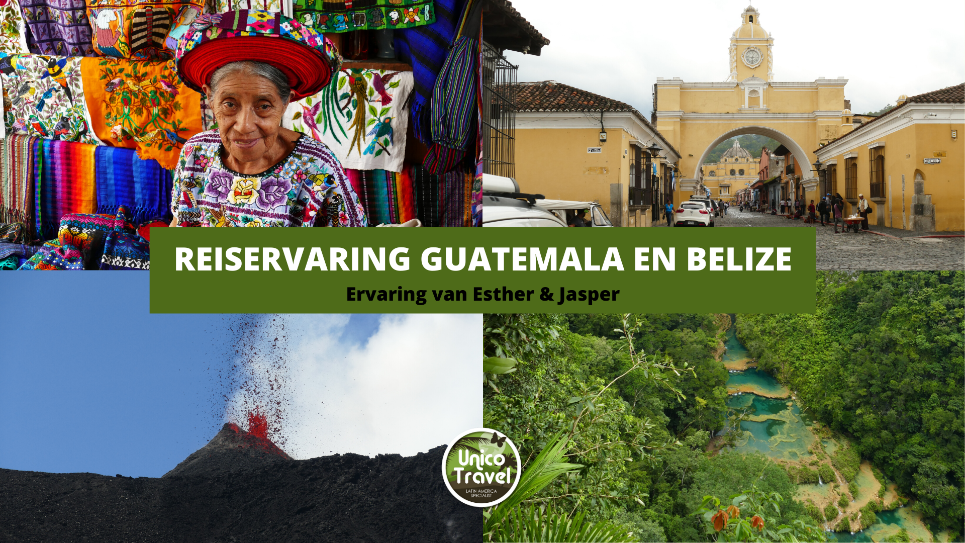 Reiservaring Guatemala en Belize