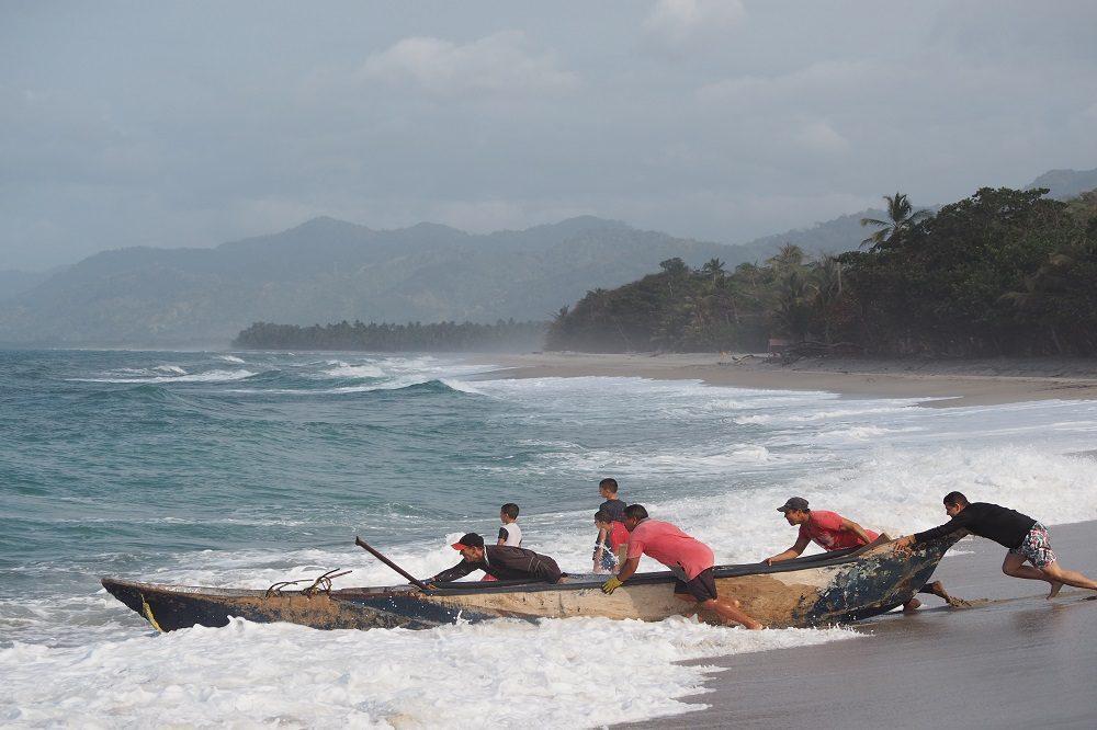 Reiservaring tayrona strand