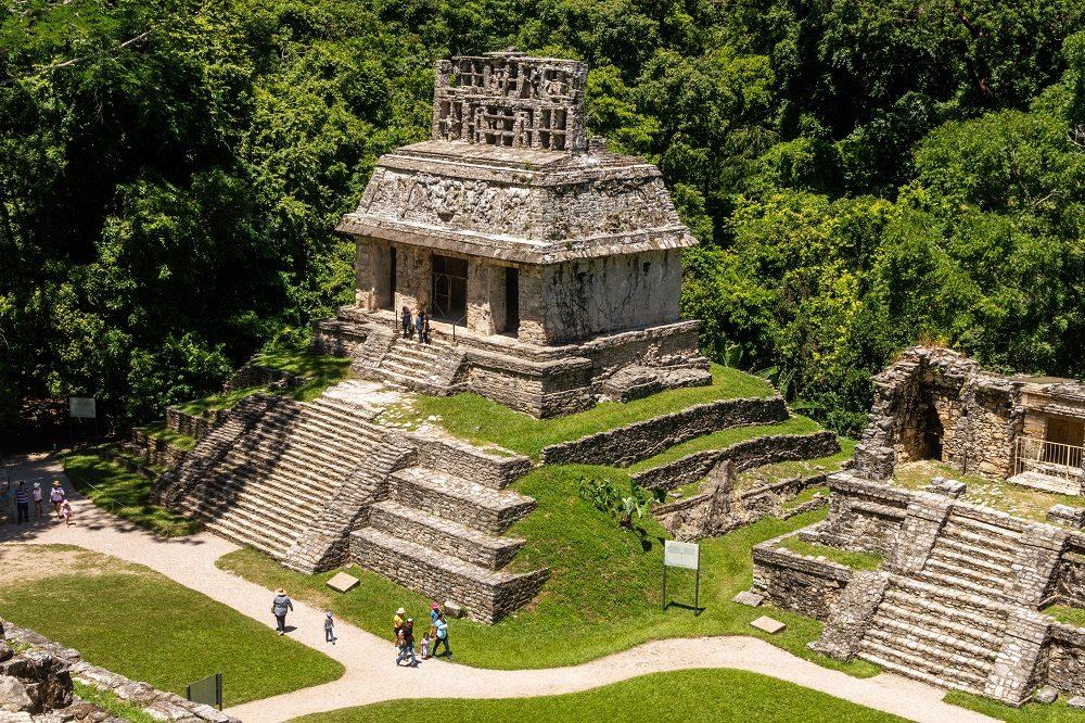 Rondreis Mexico Guatemala Belize Palenque ruine