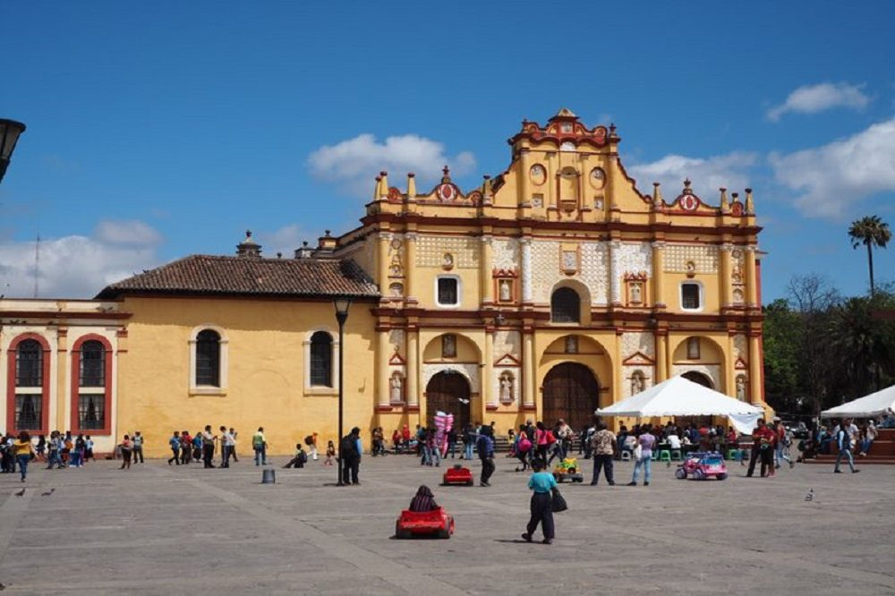 San Christobal de las Casas plein