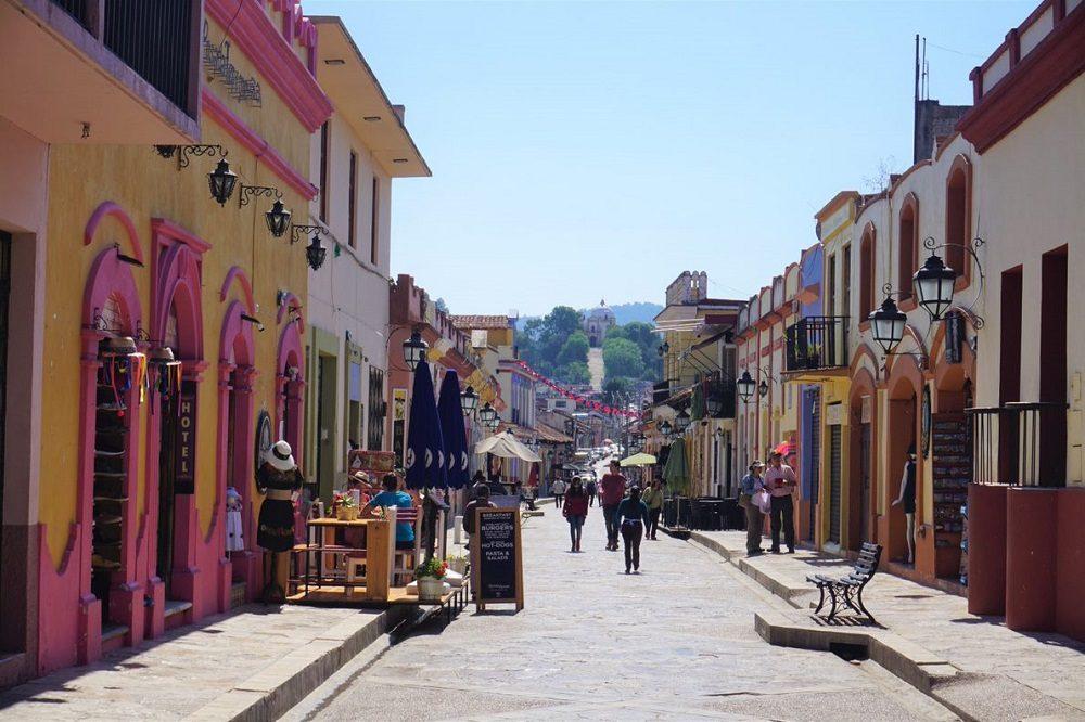San Christobal de las casas straat