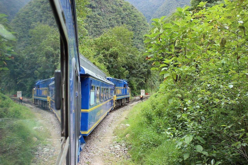 Trein Machu Picchu