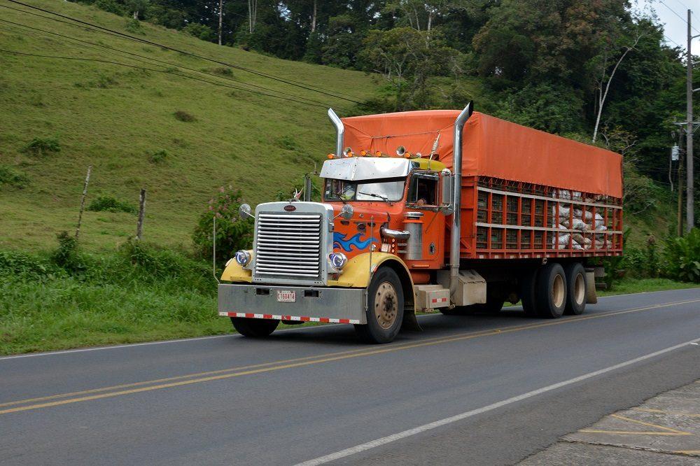 Truck in Costa Rica