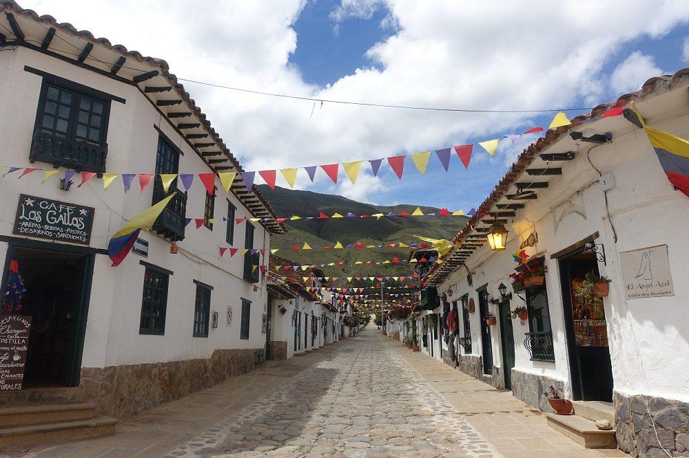 Villa de Leyva stad