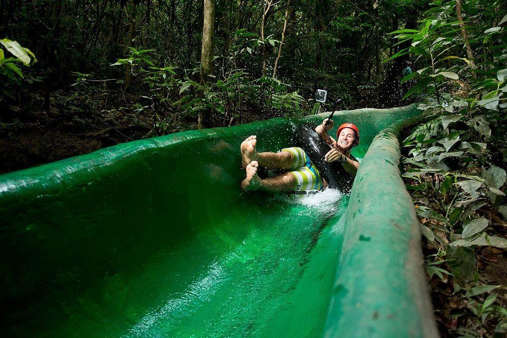 Waterglijbaan rincon de la vieja