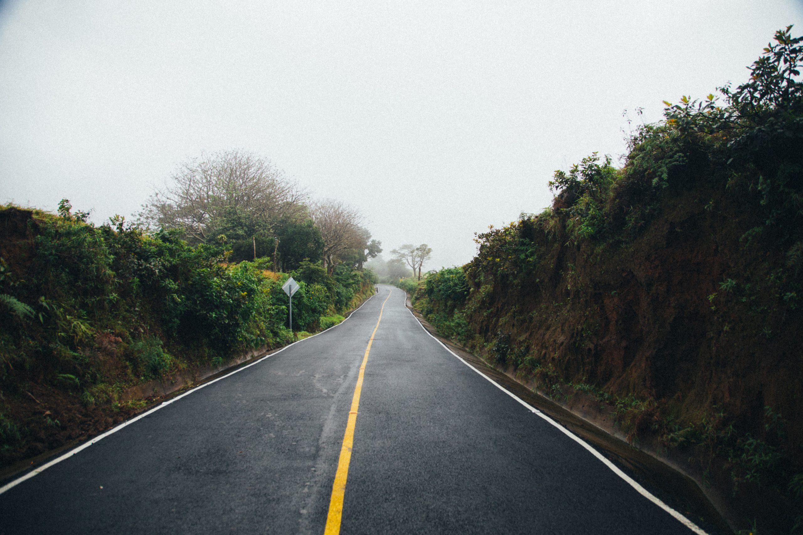 Weg in Costa Rica alajuela