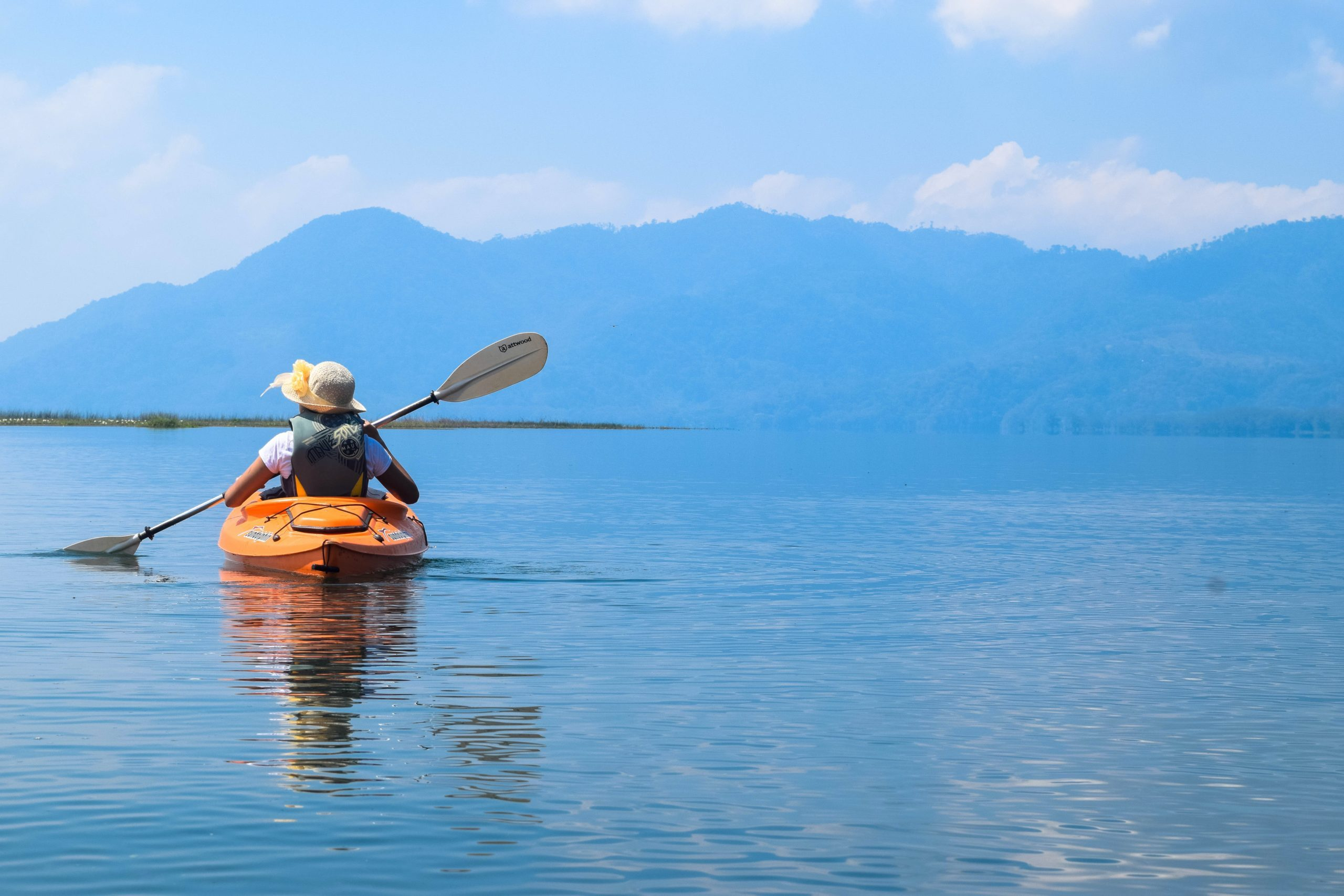 Yojoa lake kajak