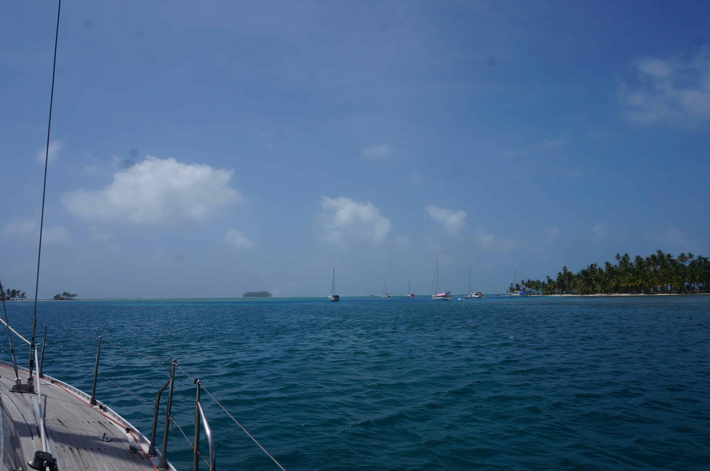 Zeilen San Blas Panama
