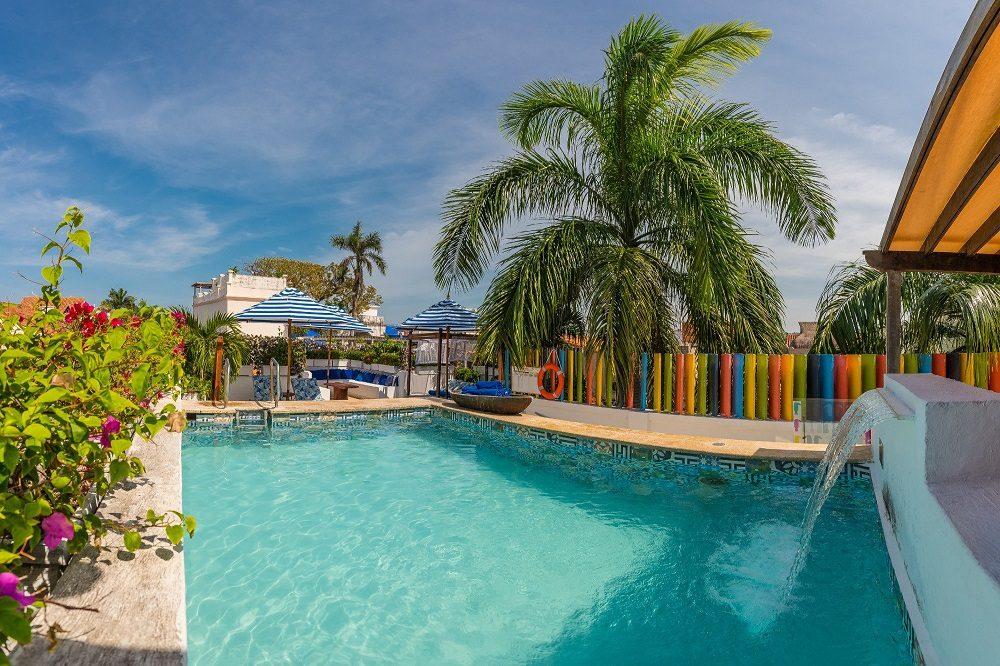 Zwembad hotel Cartagena