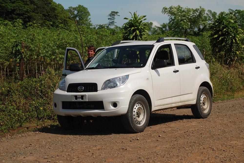 autorijden in Costa Rica huurauto