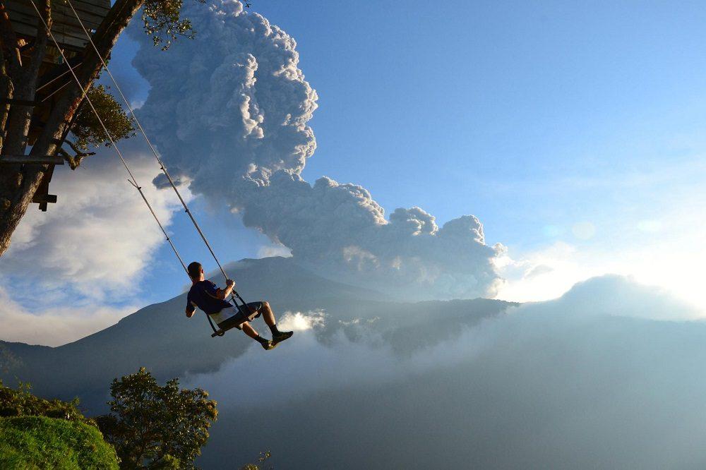 banos schommel rondreis ecuador