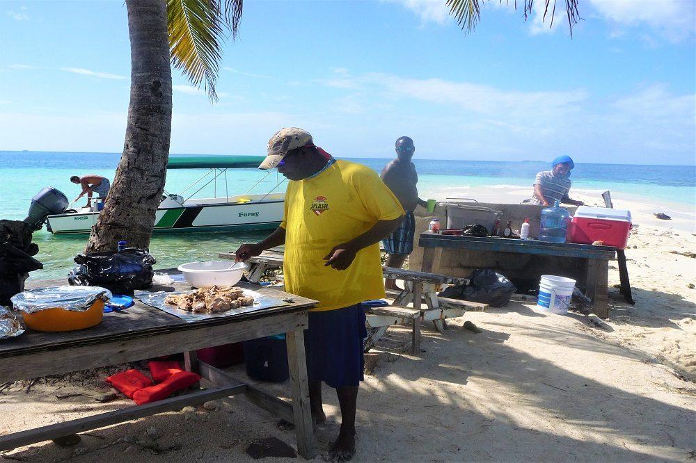 barbecue strand belize