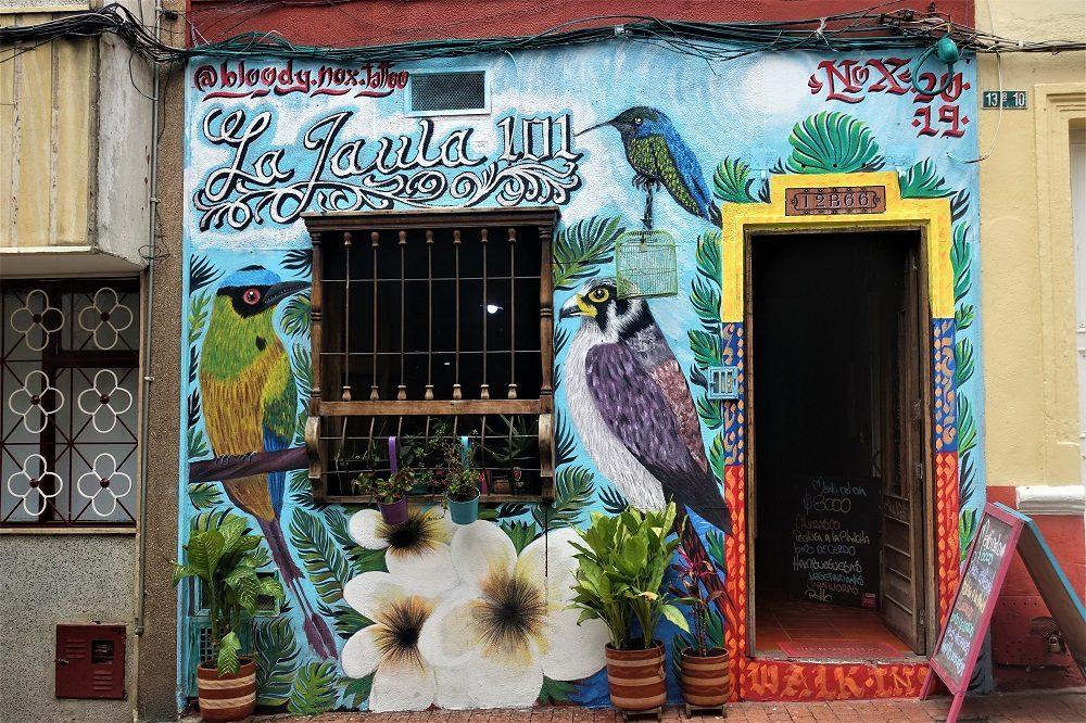 bogota winkel graffiti