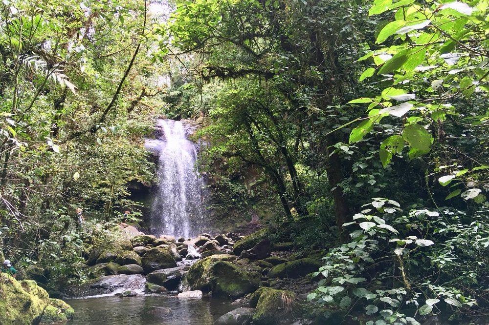 boquete waterval rondreis panama