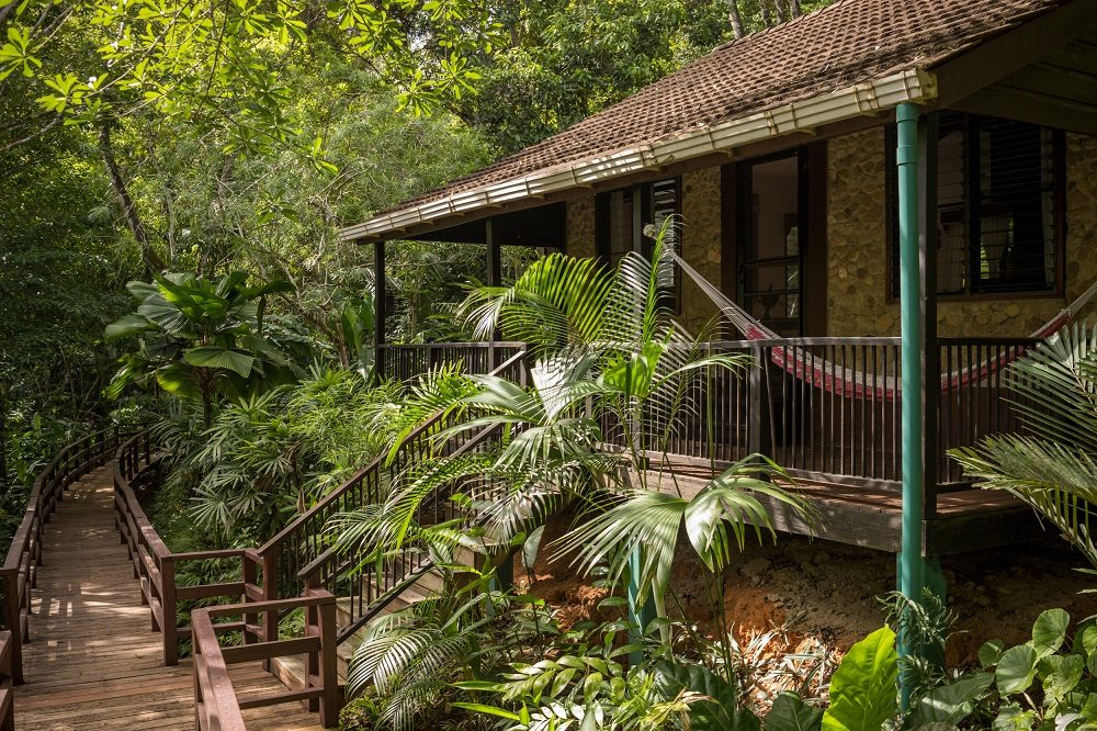 bungalow in familiereis belize