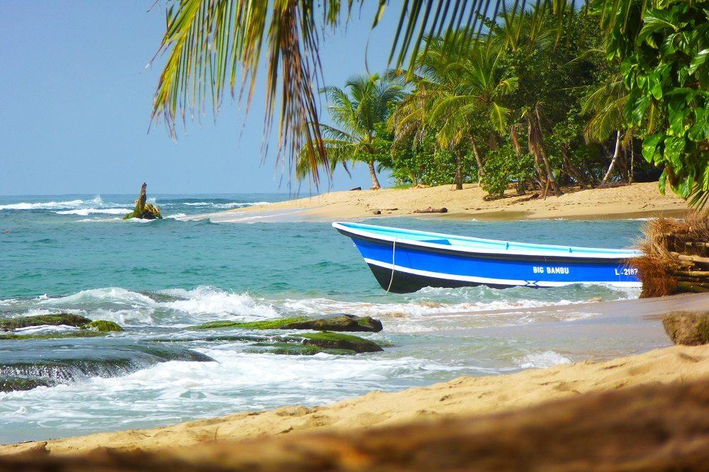 caribische kust strand