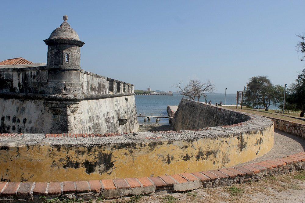 cartagena colombia stadsmuur