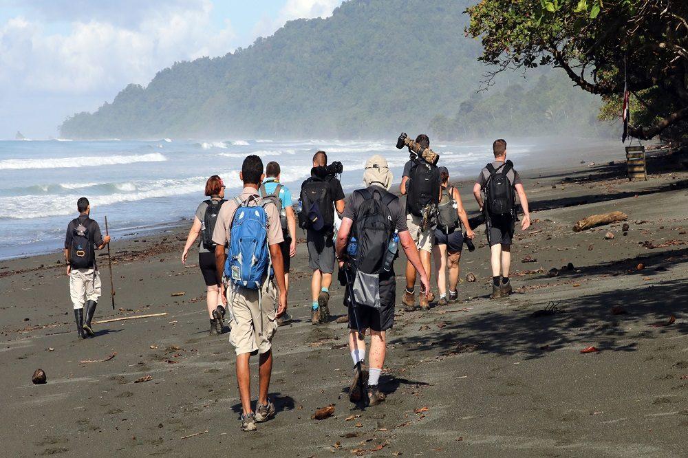 corcovado wandeling groep fotografie