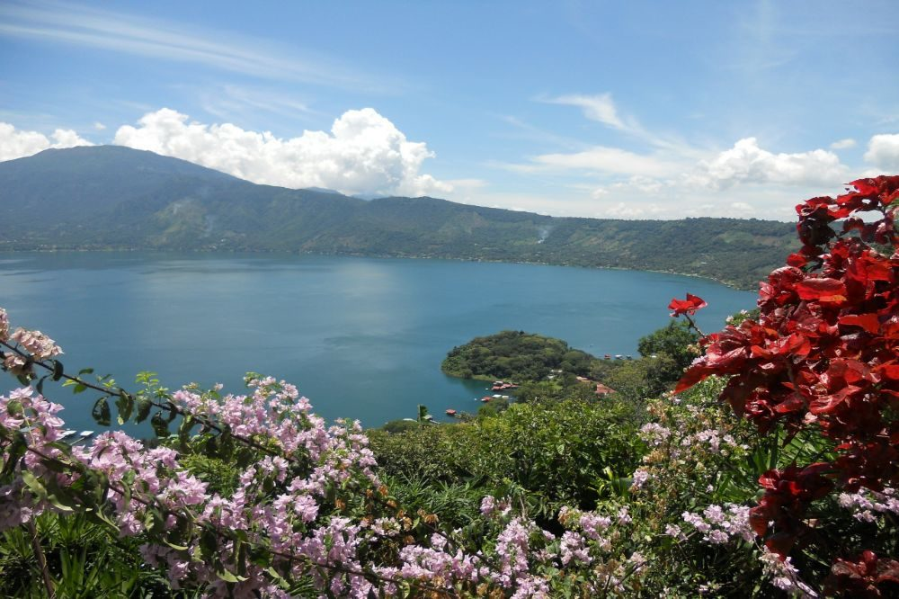 el salvador reizen lago de coatepeque