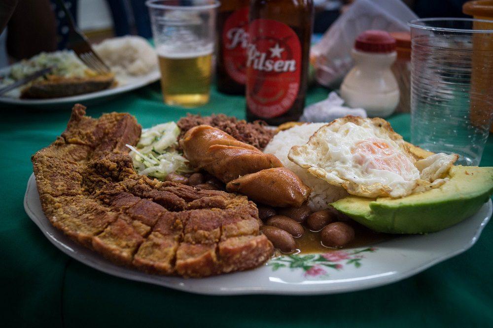 eten rondreis colombia
