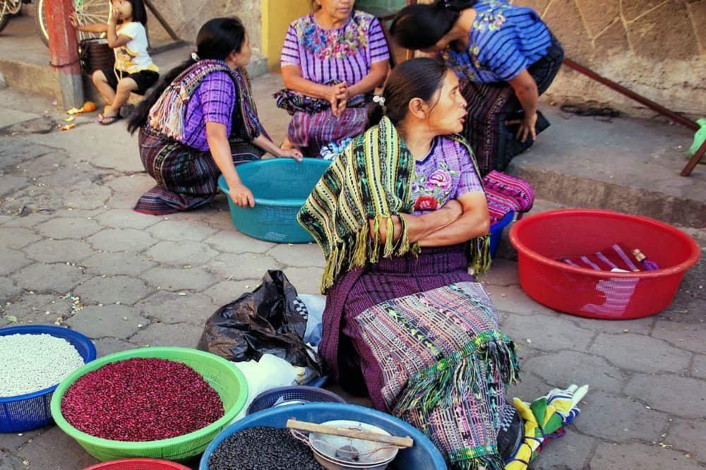 guatemala reizen chichicastenango local