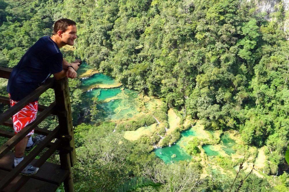 guatemala reizen semuc champey natuur