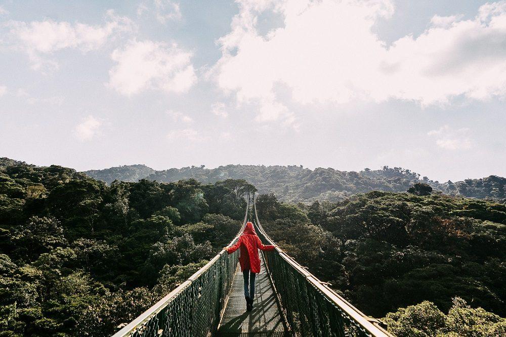 hangbrug monteverde regenseizoen costa rica