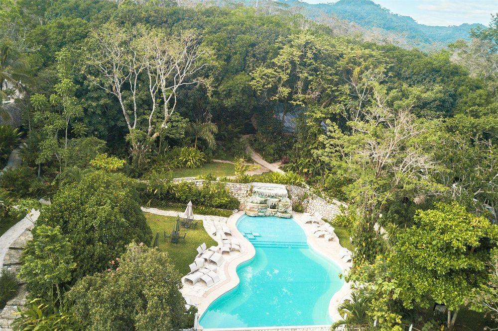 hotel palenque zwembad