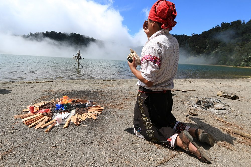 individuele rondreis guatemala laguna chicabal local