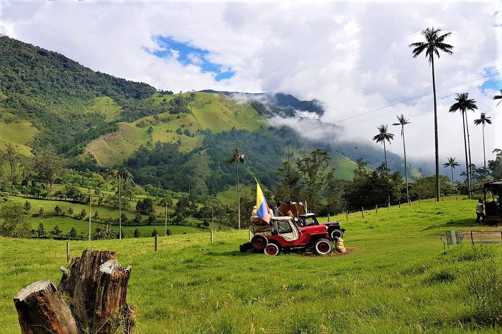 jeep valle de cocora colombia