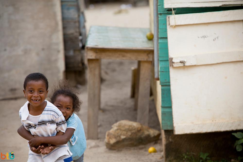 kinderen in Belize