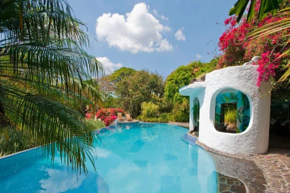 luxe reis costa rica finca rosa blanca pool