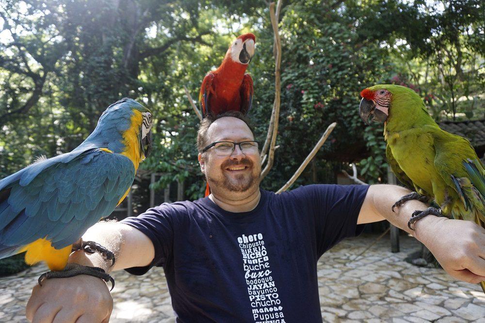 macaw mountain park honduras hoogtepunten