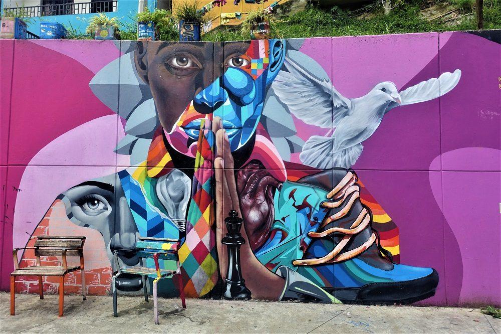 medellin muurschildering