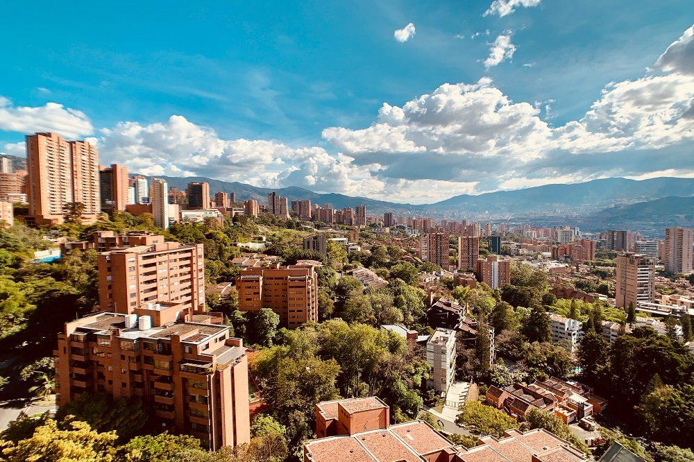 medellin stad colombia