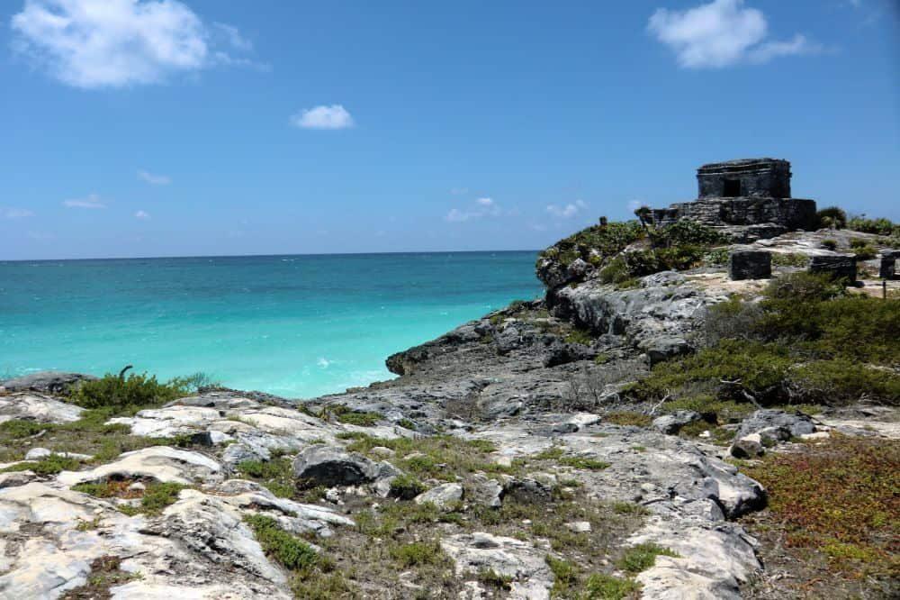 mexico reizen tulum ruine