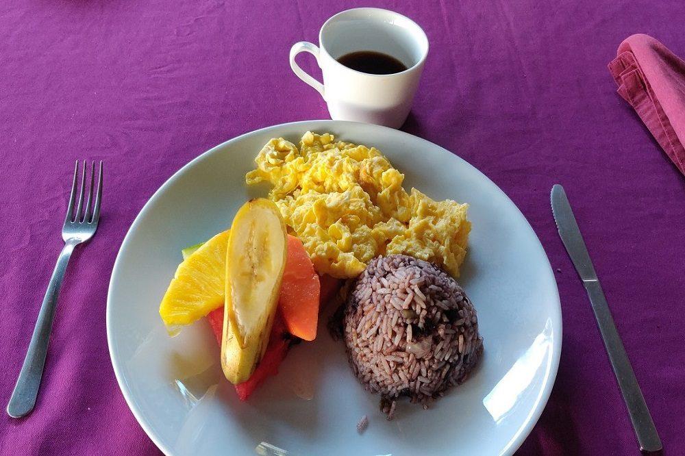 ontbijt eten en drinken costa rica