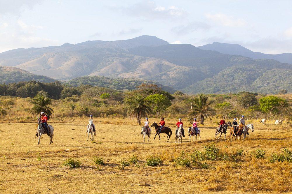 paardrijden rincon de la vieja costa rica september reis