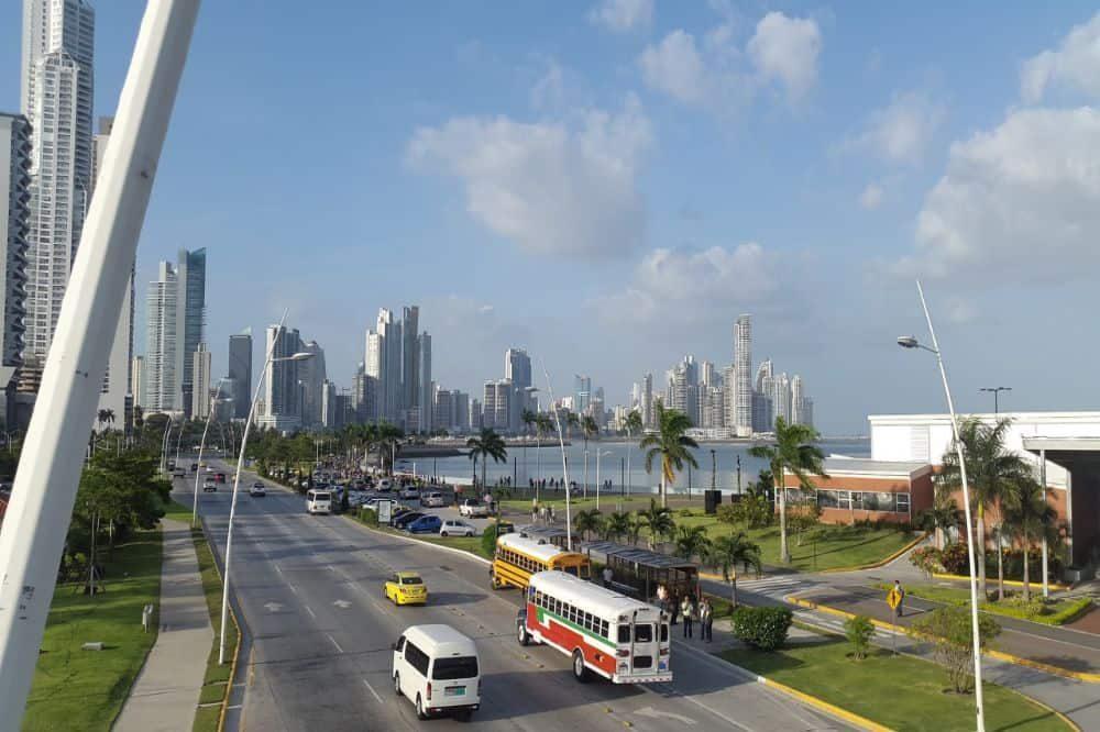 panama reizen panama stad modern
