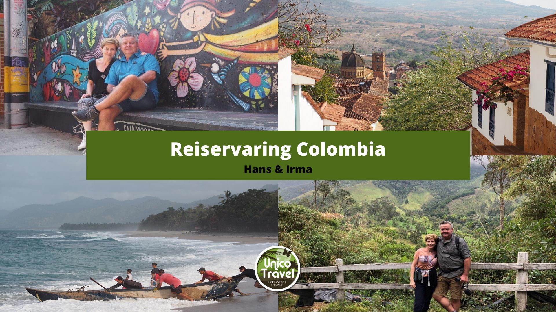 Reiservaring Colombia Irma en Hans