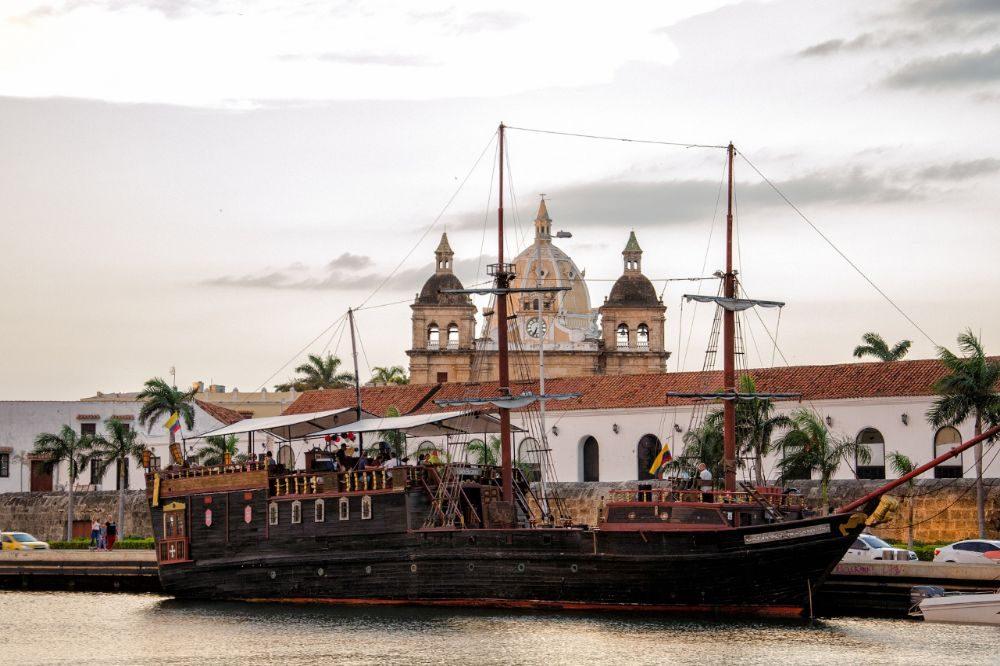rondreis colombia cartagena stad