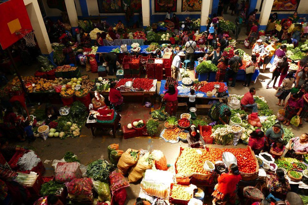 rondreis guatemala chichicastenango markt