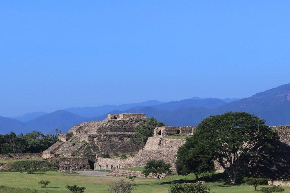 rondreis mexico monte alban ruines
