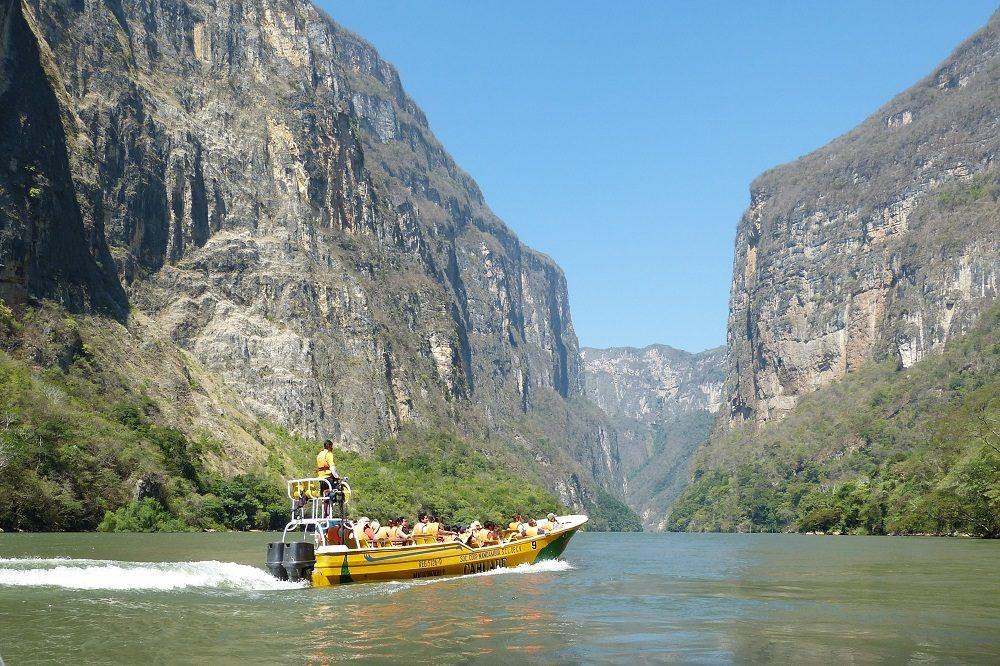 rondreis mexico sumidero canyon